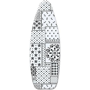 avec Rembourrage en Feutre /épais de 3 mm 120x40cm Convient /à Toutes Les Grandes Planches /à Repasser ZJBKX Housse de Planche /à Repasser 100/% Coton Chat dessin/é /à la Main