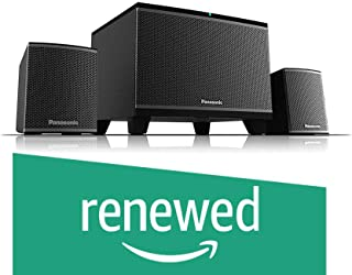 (Renewed) Panasonic HiFi SC-HT19GW-K Speaker System (Black)