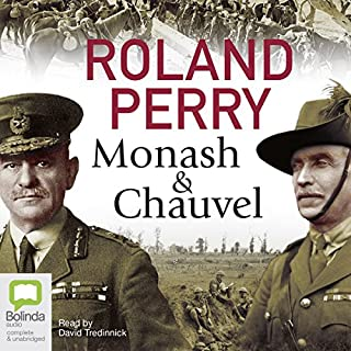 Monash and Chauvel audiobook cover art