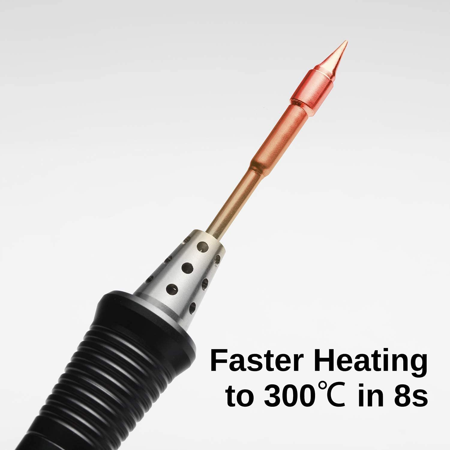 OLED Display Auto Sleep Mode SainSmart Upgraded TS80P Portable Soldering Iron with Adjustable Temperature Fast Internal Heating with TS-B02 Tip