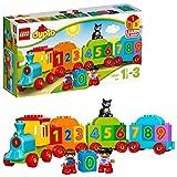 LEGO DUPLO - Mi Primer Tren de los Números, Juguete Preescolar Educativo de Aprendizaje y Construcción para Niños y...