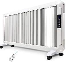 Calentador eléctrico montado en la pared Radiador de panel ultra delgado de baja energía - Termostato inteligente de conversión de frecuencia - Control táctil eficiente ecológico / ahorro de energía