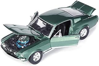 SXET-Coche modelo Modelo de Coche 1:18 Ford Mustang GTA 1967 Clásico Retro Modelo Nostálgico de Coche Modelo de Aleación de Coche Modelo de Adornos Modelo