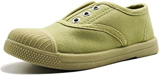 TogTu Kids Canvas Sneakers, Toddler Shoes Slip-on Little Baby Boys Girls