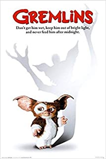 Buyartforless Gremlins 1984 - Mogwai - Gizmo 36x24 Classic 80`s Movie Art Print Poster Phoebe Cates Comedy Horror