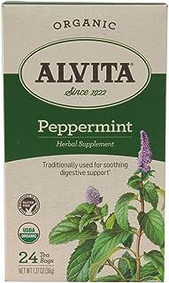 Alvita - 薄荷茶 - 24茶叶袋