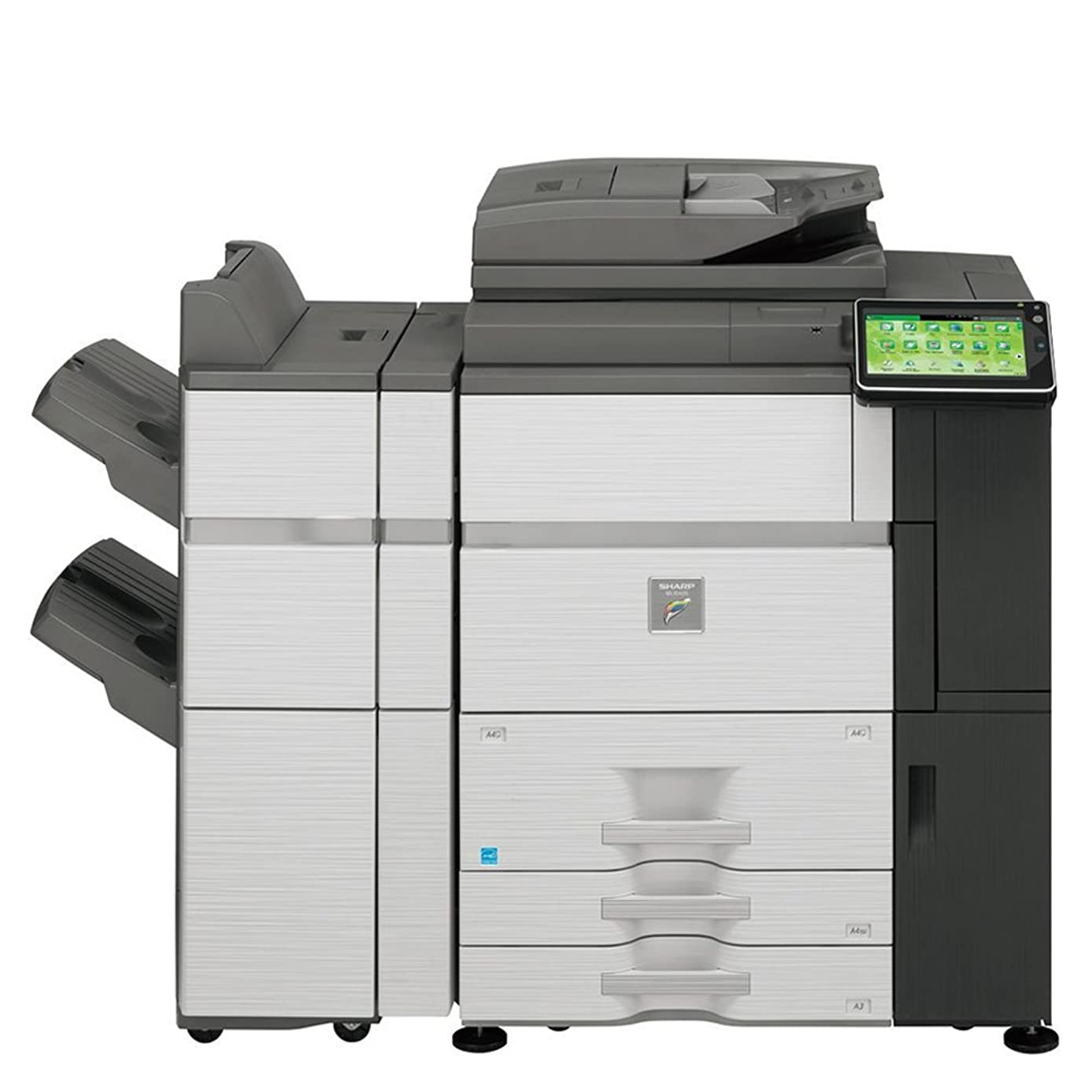 Sharp MX-6240N High-Speed A3 Color Laser Multifunction Copier - 62ppm, Copy, Print, Scan, 2 Trays, Tandem Tray, FN19 Stapler Finisher