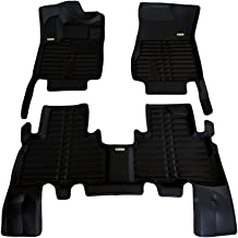 All Weather Full Set - Black Largest Coverage Waterproof TuxMat Custom Car Floor Mats for Maserati Levante 2017-2020 Models/- Laser Measured Also Look Great in the Summer./The Best/Maserati Levante Accessory. The Ultimate Winter Mats