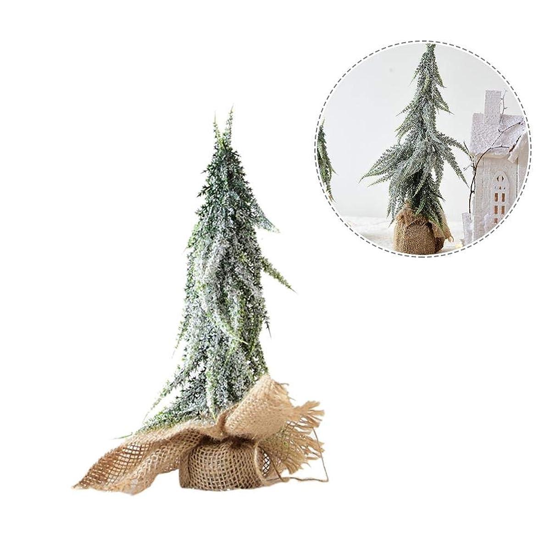 別れるツイン夕食を食べるクリスマスツリー型 クリスマスデコレーション クリスマスツリー オーナメント 卓上ミニツリー クリスマスの飾り デスクトップの小さなクリスマスツリー