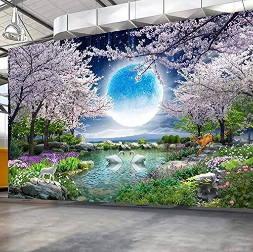 3D-vliesbehang personaliseerbaar kunstenaarsschilderij op maat, muurschildering, muurschildering, muurschildering, muur, schilderij, woonkamer, slaapkamer, fotobehang 400 x 280 cm.
