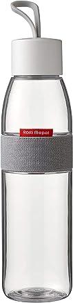 Rosti Mepal Trinkflasche Ellipse, PCTG/ABS, durchsichtig, 6.3 x 6.3 x 27 cm