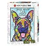 Heye 29732 - Puzzle estándar, los Perros Nunca mienten 1.000 Partes, Dean Russo