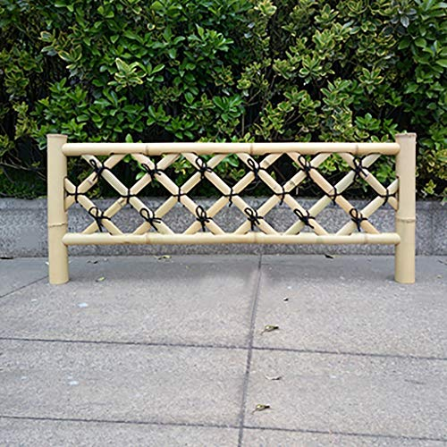 QBZS-YJ Fence Bamboo Fence Outdoor Fence Guardrail courtyard landscape partition bamboo fence fence Border Landscape Edging Decorative Garden