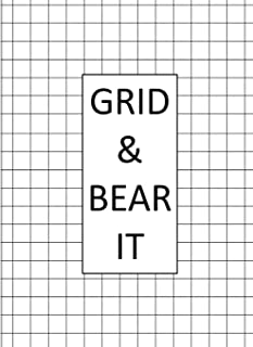 Grid & Bear It: Graph Paper Composition Notebook with 1/2-inch Grids