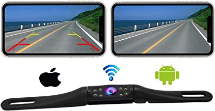 $69 » Casoda WiFi Long License Plate Backup Camera for iPhone and Android,Ultra Strong Signal Smooth Video Image Never Freezing ...