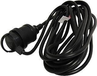 HPM R2703EB Entertainment Extension Lead Extension Lead - Household Duty 10A 2400W Entertainment 3m Lead Black 3 core 1.0m...