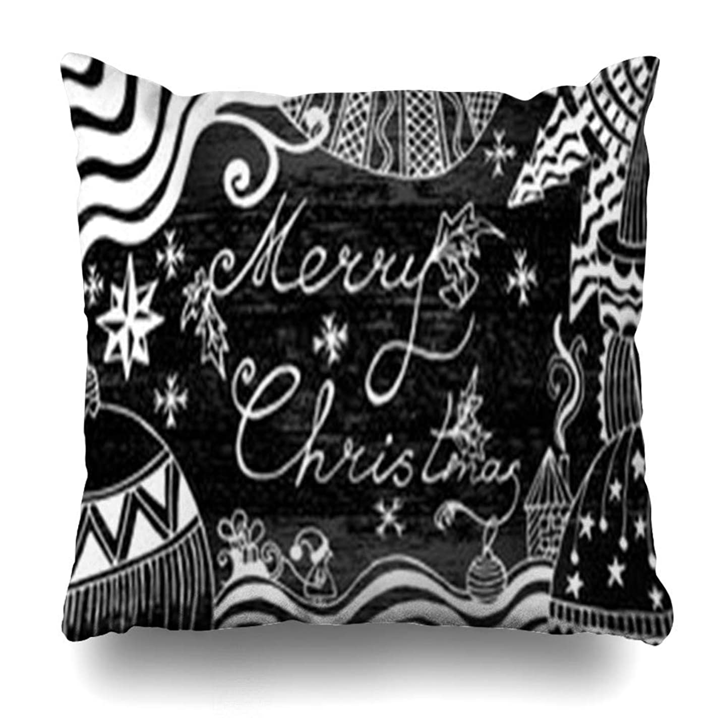 たとえ他の日枕カバースローノルディックニットパターンホワイトブルー祝日クリスマス祝賀会国クラフトカルチャーホームデコレーションクッションケーススクエア18 * 18インチ装飾ソファ枕カバー