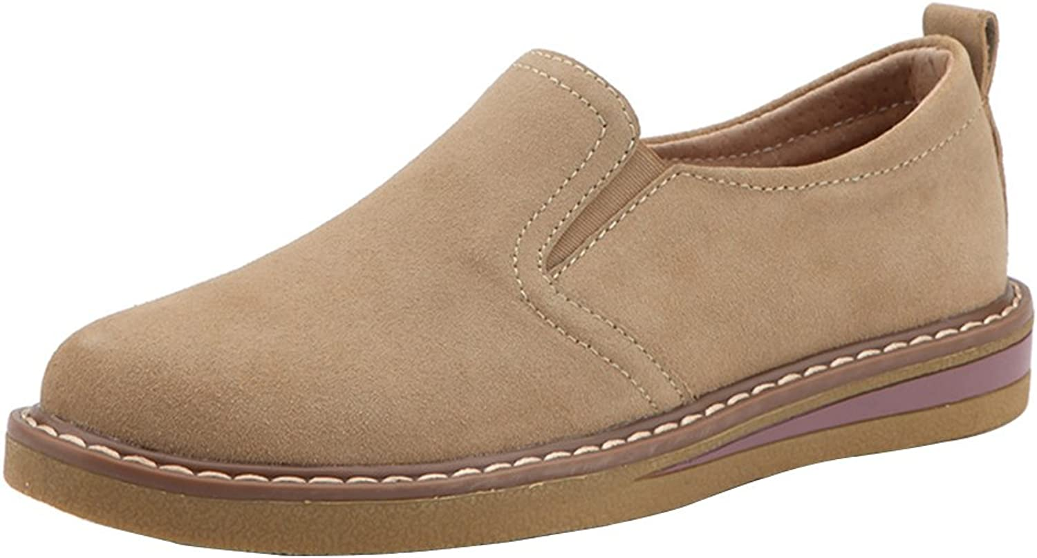 Kyle Walsh Pa Women's Round Toe Suede Loafers Flat