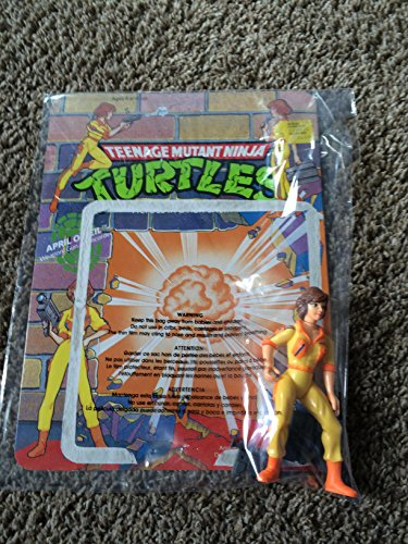 Teenage Mutant Ninja Turtles April O'Neil Action Figure