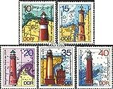 Prophila Collection DDR 1953-1957 (kompl.Ausg.) 1974 Leuchttürme (Briefmarken für Sammler) Leuchttürme