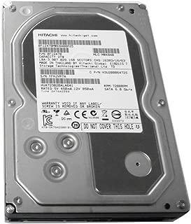 Hitachi 2TB 7200RPM 64MB Cache SATA III 6.0Gb/s (Heavy Duty, 24/7) 3.5in Internal Desktop Hard Drive (For PC, Mac, CCTV DVR, RAID, NAS) (Renewed)