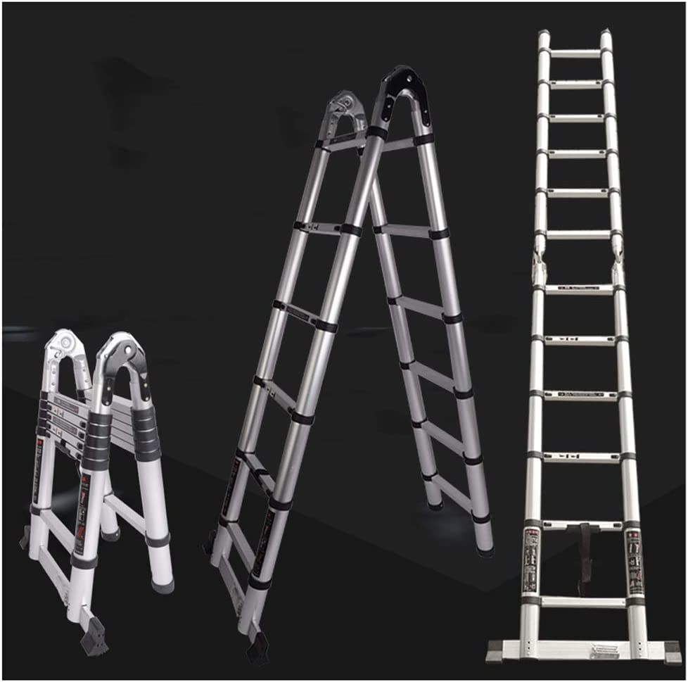 Telescoping Ladders Telescoping Ladder Extension Multi-Purpose 2