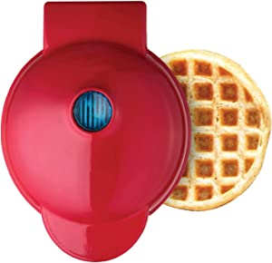 beiside Waffle Maker-Home Automatic Waffle Maker Suitable For Waffle Panini Potato Pie Breakfast Crepes Maker,4 Inches Non-Stick Surface