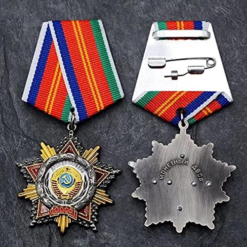 YUNjun Unión Soviética Varios Grupos étnicos Personas Amistad Medalla Metal URSS Estableció 50 Aniversario Insignia