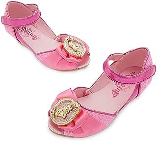 Store Princess Sleeping Beauty Aurora Little Girl Costume Dress Shoes Size 11/12 Pink