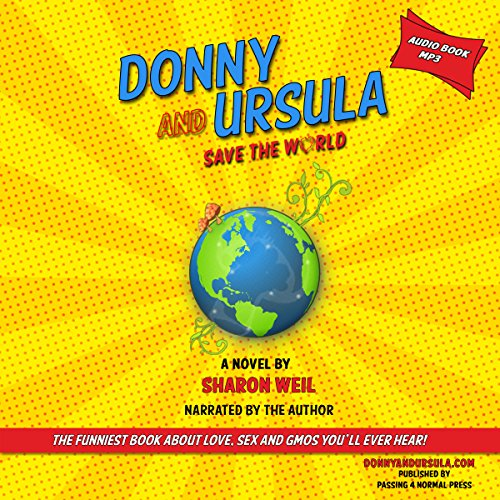 Donny and Ursula Save the World audiobook cover art