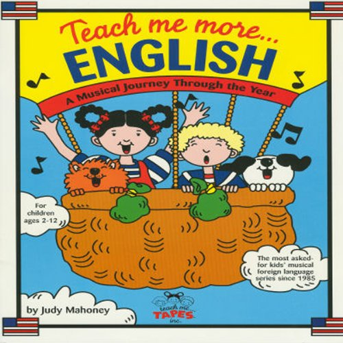 Teach Me More English audiobook cover art