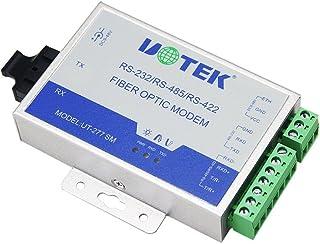 UTEK ut-277sm-st光ファイバにRS - 232/ 422/ 485メディアコンバータ