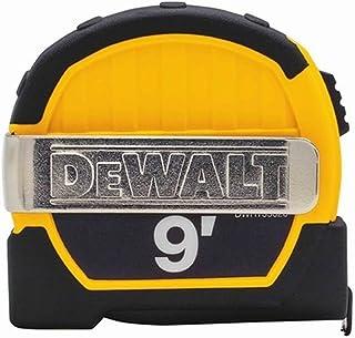 Dewalt DWHT33028M 9ft. Magnetic Pocket Tape Measure, Black and Yellow