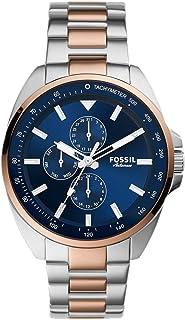 FOSSIL MENS AUTOCROSS STAINLESS STEEL WATCH - BQ2552