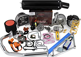 SMM 12-100-50- Black Chinese Scooter Big Bore Kit 100cc 50mm Bore QMB139/1PQMB139 Engines Scooter Performance Parts Kit