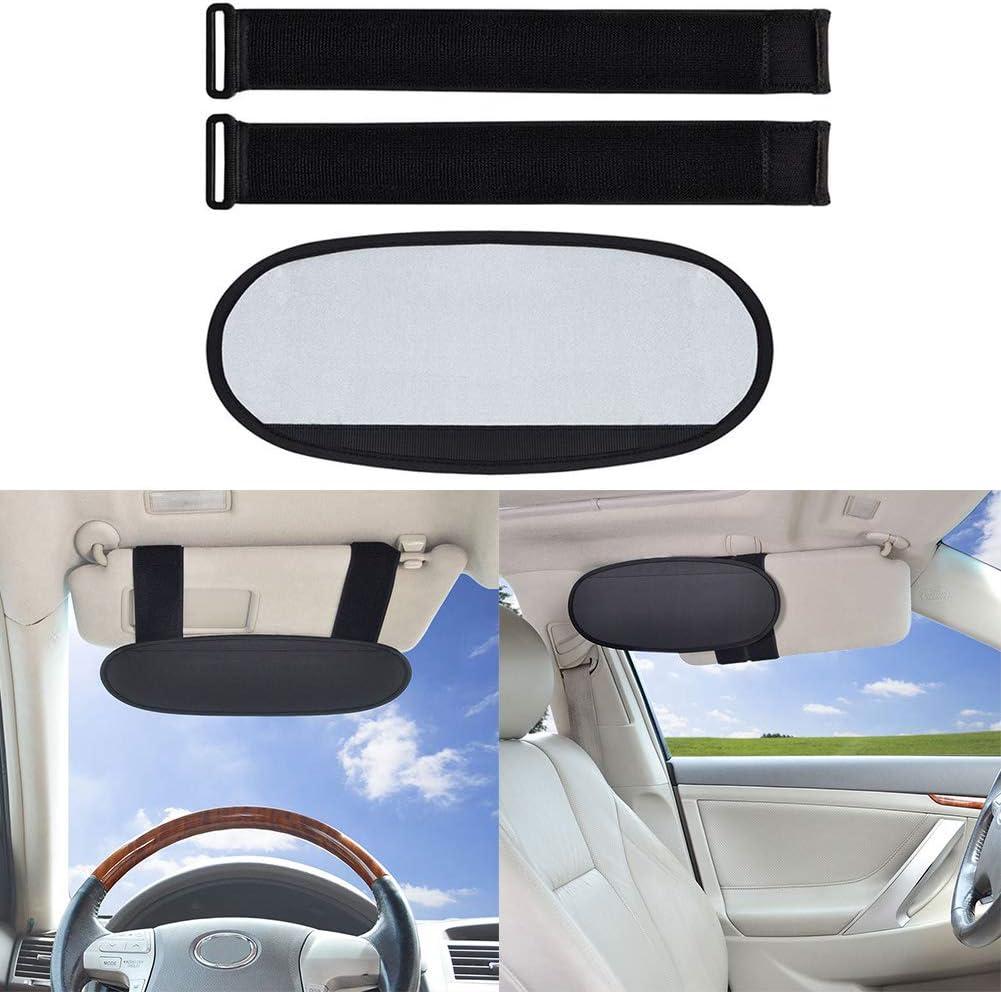 Auto Sonnenblende Fahrzeug Blendschutz Sonnenblende Erweiterung Abnehmbare Anti Dazzle Für Lkw Und Auto Schwarz Auto