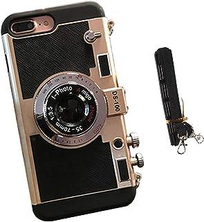 New Emily In Paris Phone Case Vintage Camera, per iPhone 11/12 PRO MAX (Oro, Per iPhone X/XS)