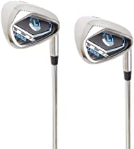 LAZRUS Premium Golf Irons Individual or Golf Irons Set for Men (4,5,6,7,8,9) Driving Irons (2&3) Right Hand Steel Shaft Re...