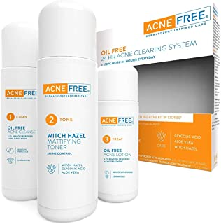 AcneFree 24 Hour Acne Clearing System 1 kit