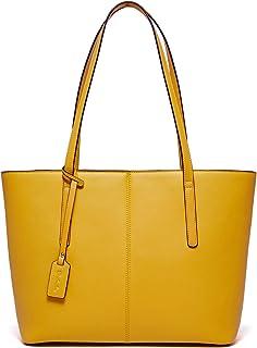 BOSTANTEN Women Handbag Genuine Leather Tote Shoulder Purses
