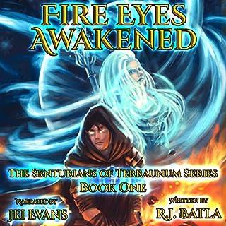 Fire Eyes Awakened:  audiobook cover art