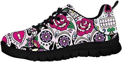 chaussures tête de mort mexicaine 1