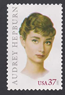 Audrey Hepburn Legend of Hollywood Single 37c US Postage Stamp Scott 3786