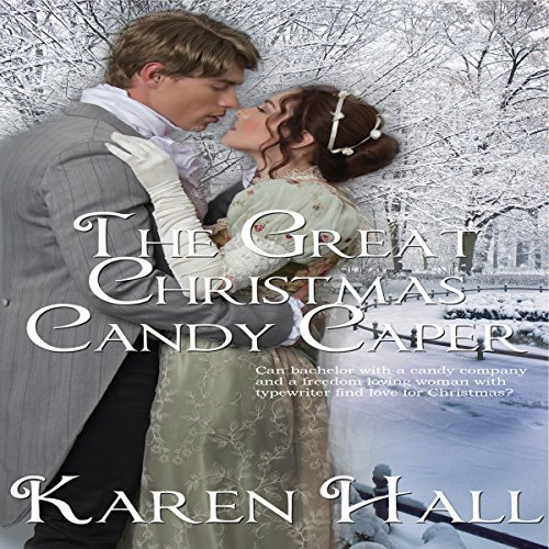 The Great Christmas Candy Caper audiobook cover art