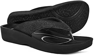 Original Orthotic Comfort Thong Style Flip Flops Sandals for Women with Arch Support for Comfortable Walk