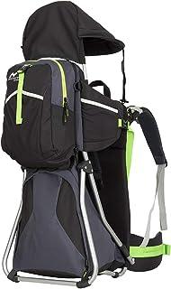 Montis Hike Kraxe Wandertrage bis 25kg Gewicht mit vielen Extras & Erweiterungsmöglichkeiten - inkl. Stirnkissen & Zusatzrucksack - Premium Kindertrage geeignet für beide Elternteile