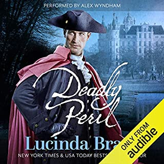 Deadly Peril audiobook cover art