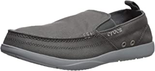 Crocs Men's Walu Slip On Loafer   Casual Men's Loafers   Walking Shoes for Men