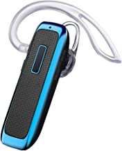 Bluetooth Headset, Wireless Bluetooth Earpiece w/ 18 Hours Playtime and Noise Cancelling..