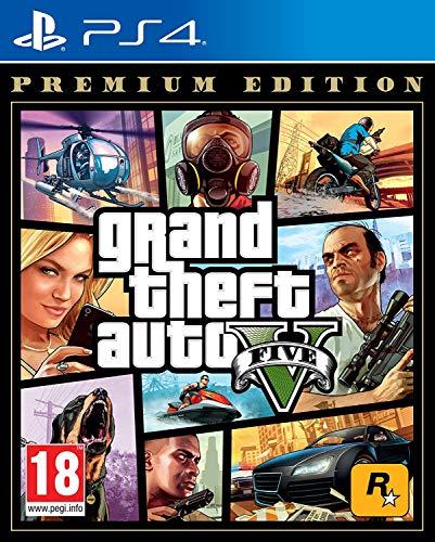 Grand Theft Auto V - Premium Online Edition (PS4)